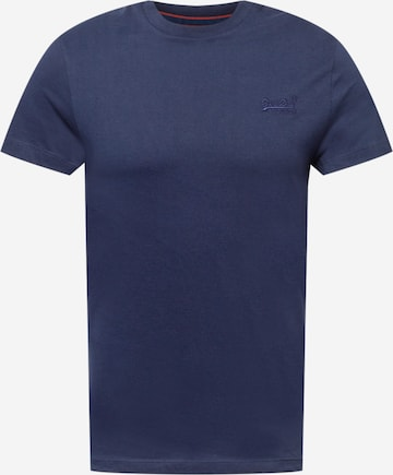 Superdry T-Shirt in Blau