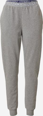 Tommy Hilfiger Underwear Pyjamahose in Grau