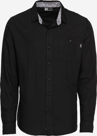 Hailys Men Hemd 'Lucas' in schwarz, Produktansicht