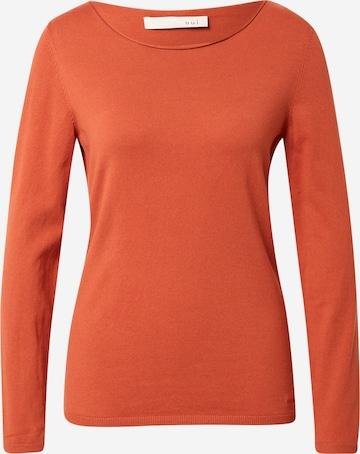 OUI Sweter w kolorze czerwony