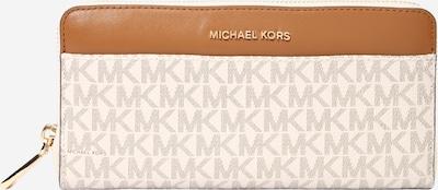 MICHAEL Michael Kors Portemonnaie in karamell / grau / offwhite, Produktansicht
