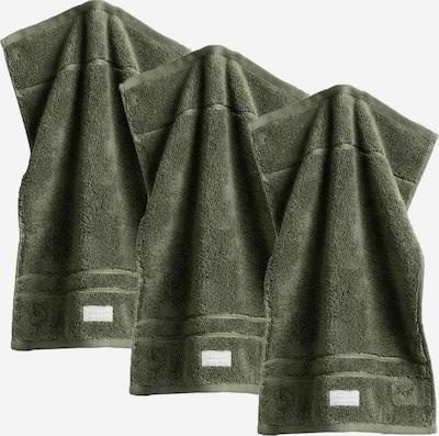 GANT Handtuch in dunkelgrün, Produktansicht