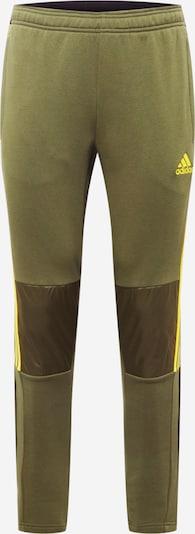 ADIDAS PERFORMANCE Športové nohavice 'Tiro' - zlatá žltá / kaki, Produkt