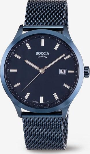 Boccia Titanium Uhr in dunkelblau, Produktansicht