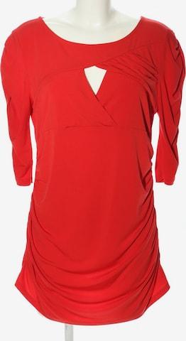 Mandarin Top & Shirt in XXL in Red
