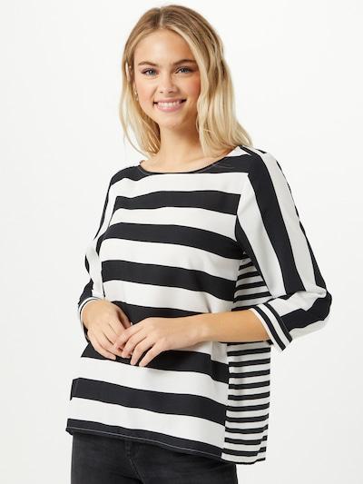 STREET ONE Bluse in schwarz / weiß, Modelansicht