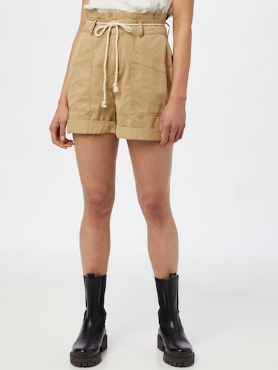 VERO MODA Pantalon 'Flame' en beige: Vue de face