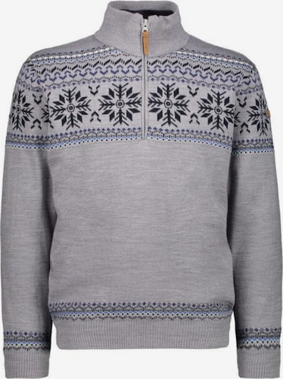 CMP Pullover ' Knitted ' in grau, Produktansicht