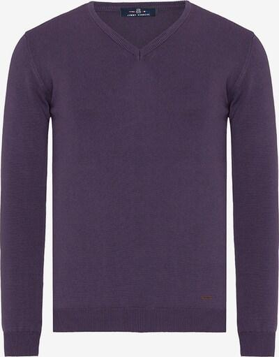 Jimmy Sanders Pullover 'Zolia' in lila, Produktansicht