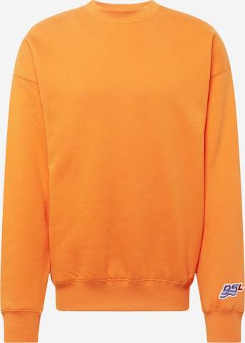 DIESEL Sweatshirt in Orange