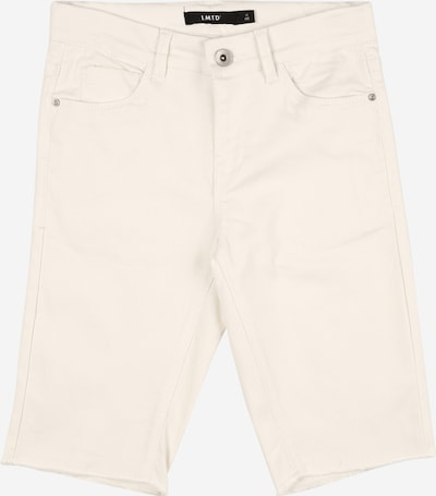 NAME IT Shorts 'NLFPIL DNMALICIA' in white denim, Produktansicht