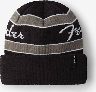 Brixton Beanie in Greige / Black, Item view