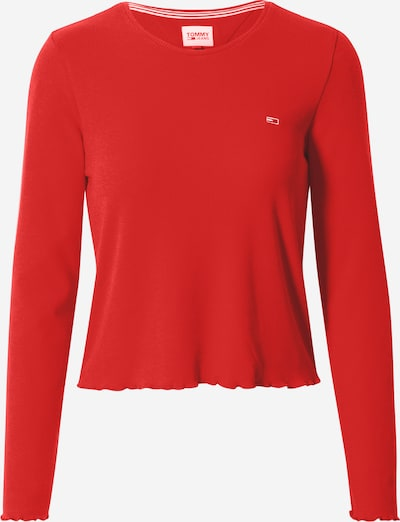 Tommy Jeans Shirt in rot, Produktansicht