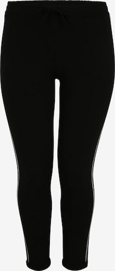 Doris Streich Hose mit Zierstreifen in schwarz, Produktansicht