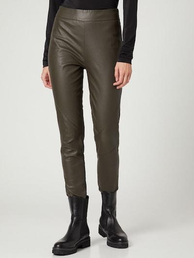 Guido Maria Kretschmer Collection Pants 'Lieven' in Khaki, View model