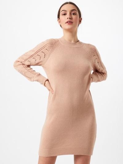JACQUELINE de YONG Vestido de punto 'AVIAJA' en talco, Vista del modelo