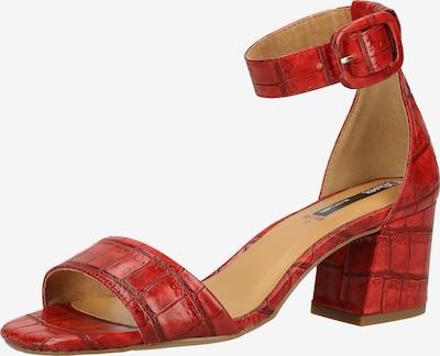 s.Oliver BLACK LABEL Sandalen in rot, Produktansicht