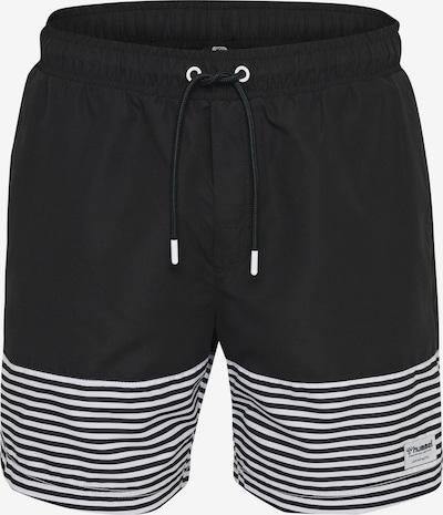Hummel Badeshorts 'Chase' in schwarz / weiß, Produktansicht