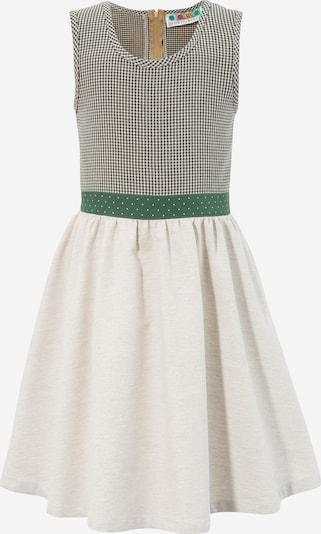 BERWIN & WOLFF Dress in Cream / Dark green / Black, Item view