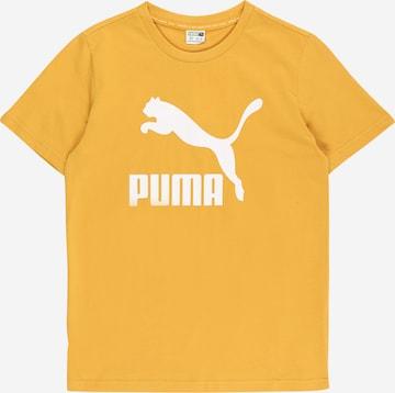 PUMA T-shirt i gul