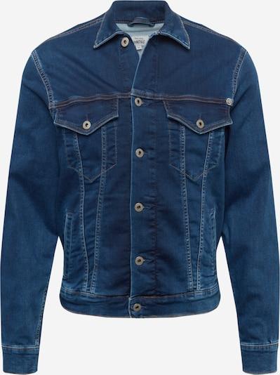 Pepe Jeans Tussenjas 'PINNER' in de kleur Blauw denim, Productweergave