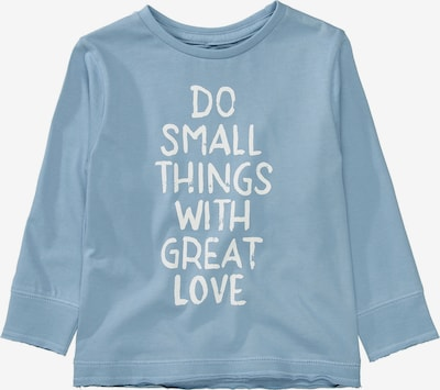BASEFIELD Shirt in hellblau / weiß, Produktansicht