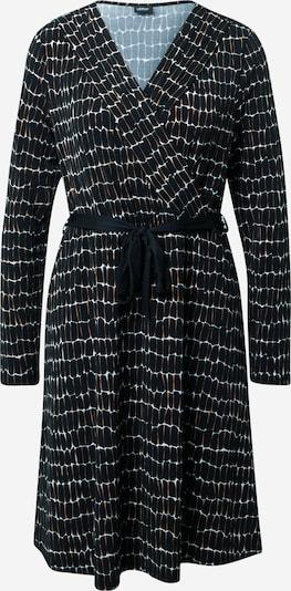 s.Oliver BLACK LABEL Kleid in braun / schwarz / weiß, Produktansicht