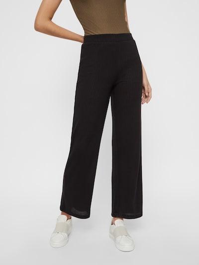 PIECES Hose in schwarz, Modelansicht