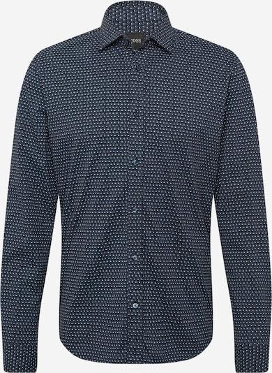 BOSS Casual Hemd 'Mypop_3' in blau / dunkelblau / weiß, Produktansicht