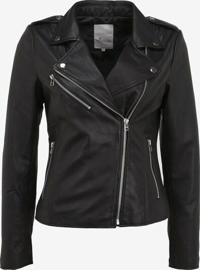 Goosecraft Lederjacke 'Julia Biker' in schwarz, Produktansicht