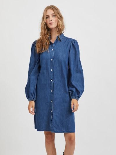 VILA Kleid in blue denim, Modelansicht