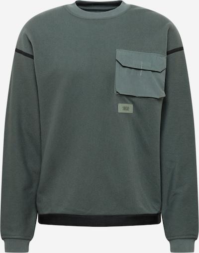 Bluză de molton G-Star RAW pe gri metalic / negru, Vizualizare produs