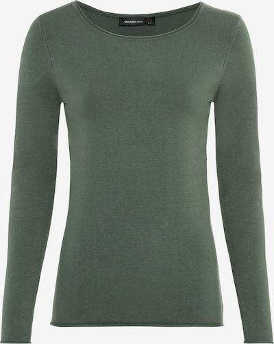 HALLHUBER Basic-Pullover mit Rollsaum in grün, Produktansicht