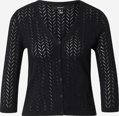 Geacă tricotată 'CADDIE' VERO MODA pe negru, Vizualizare produs