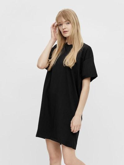 Rochie tip bluză 'RIA' PIECES pe negru, Vizualizare model