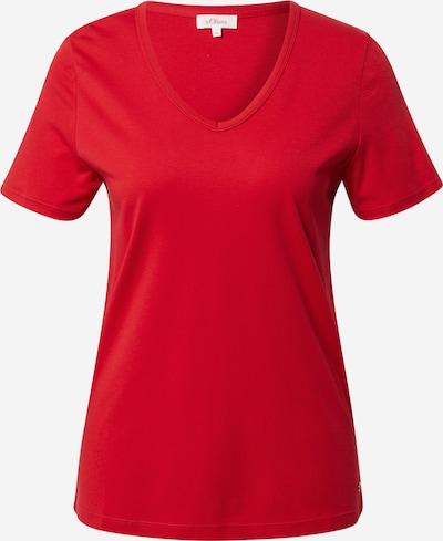 s.Oliver Shirt in de kleur Rood, Productweergave