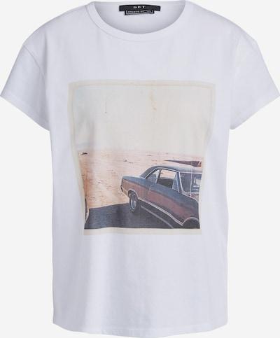 SET T-Shirt in mischfarben / weiß, Produktansicht
