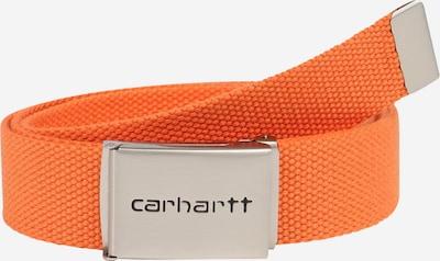 Carhartt WIP Riem in de kleur Sinaasappel / Zilver, Productweergave