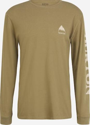 BURTON Skjorte 'Elite' i grønn