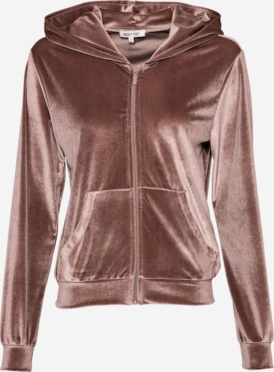 Giacca di felpa 'Lusan' ABOUT YOU di colore nudo / rosé, Visualizzazione prodotti