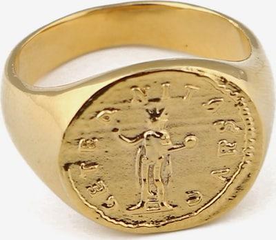 Orelia Bague 'Roman' en or, Vue avec produit