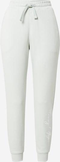 TOMMY HILFIGER Byxa 'ABO' i pastellgrön / vit, Produktvy