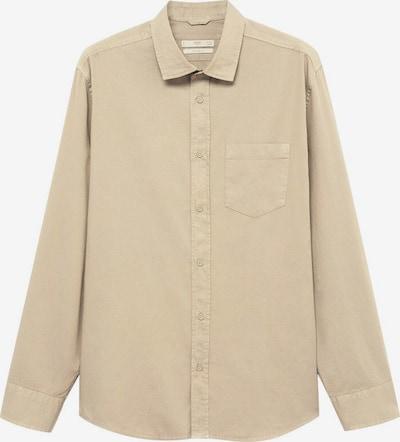 MANGO MAN Hemd lumiere in beige, Produktansicht
