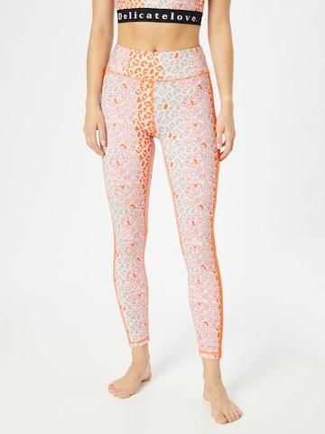 Pantalon de sport 'NADI' DELICATELOVE en rose