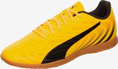 PUMA Puma ONE 20.4 Indoor Fußballschuh Herren in gelb / schwarz, Produktansicht