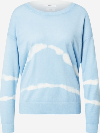 BRAX Sweter 'Lisa' w kolorze jasnoniebieski / białym, Podgląd produktu