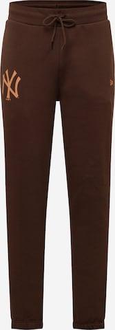 NEW ERA Pants in Brown