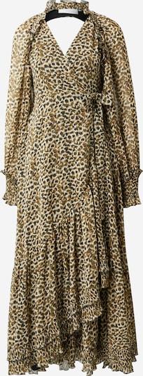 Rochie tip bluză 'FRILL' Copenhagen Muse pe gri deschis / oliv / negru, Vizualizare produs