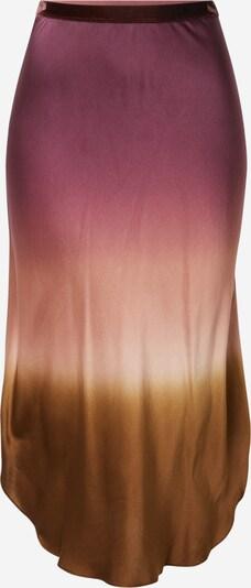 Fustă 'DAWN' Mes Demoiselles pe arămiu / roz pitaya / roz pastel, Vizualizare produs
