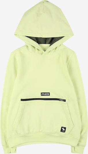 Abercrombie & Fitch Sweater majica 'GAMING' u siva / pastelno zelena / crna, Pregled proizvoda